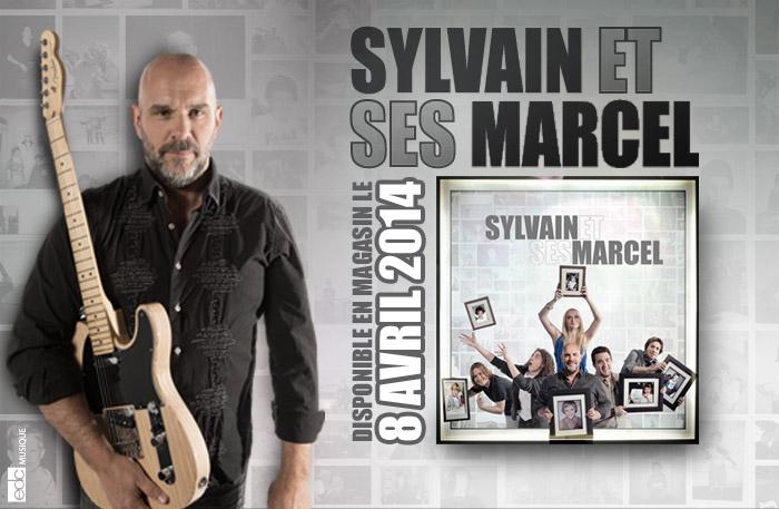 Sylvain & ses Marcel | Nouvel Album